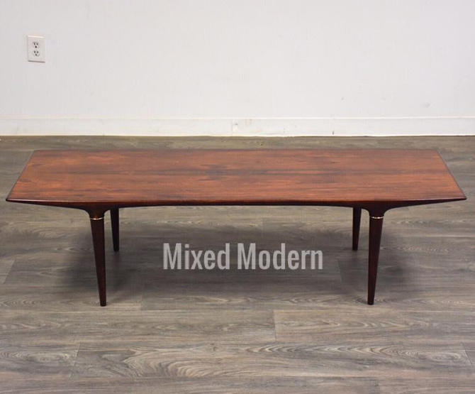 Rosewood Coffee Table by Svante Skogh for Seffle by mixedmodern1