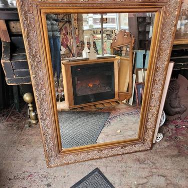 Large Beveled Edge Mirror, 45x33