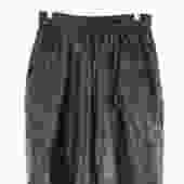 En Noir Black Leather Shorts