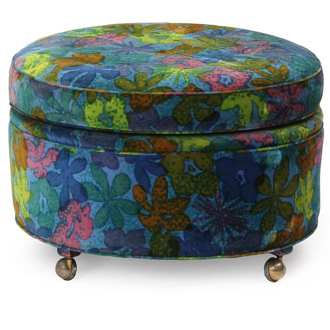 Pouf on Casters