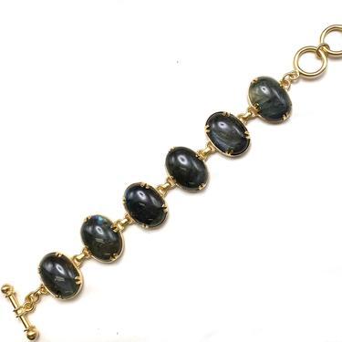 Labradorite Toggle Bracelet