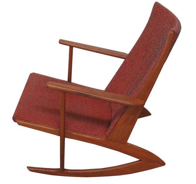 Mid Century Rocking Chair by Holger Georg Jensen by SputnikFurnitureLLC