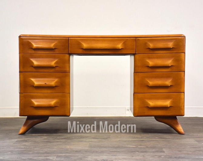 Franklin Shockey Solid Maple Desk by mixedmodern1