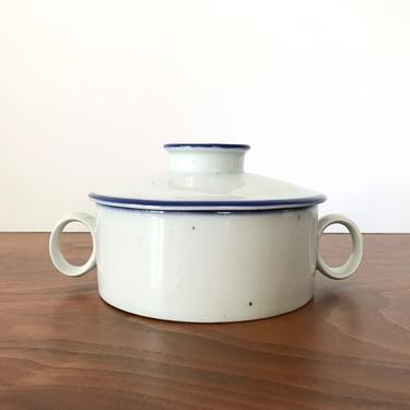 Dansk Designs Blue Mist Sugar Bowl with Lid by Niels Refsgaard by TheThriftyScout