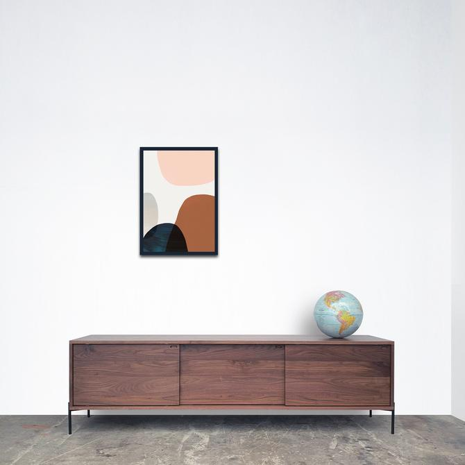 Roosevelt Credenza - Solid Walnut - Metal Legs - In Stock!!! by STORnewyork