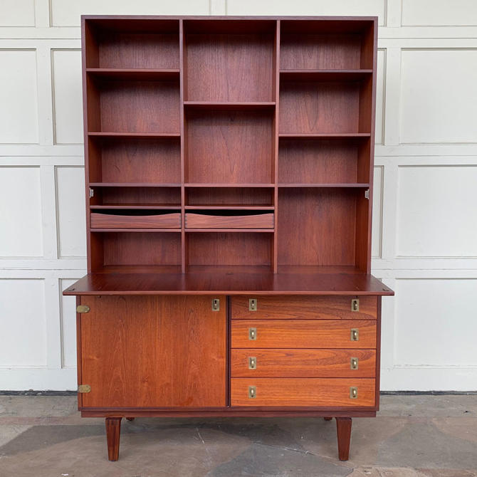 HA-19206 Teak Lovig Dropfront Cabinet