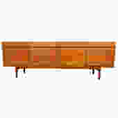 Kofod-Larsen Model No. 66 Super-Long Teak Sideboard by Faarup