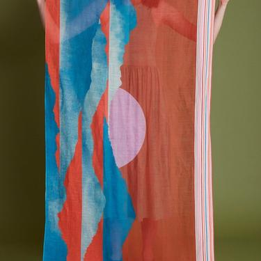 Scarf Papouasie - Corail
