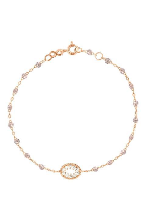 "6.7"" Me Hearty Classic Gigi Bracelet - Sparkle + 18K Yellow Gold"