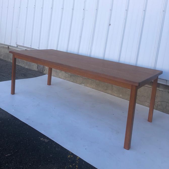 Mid Century Danish Modern Tall Teak coffee table