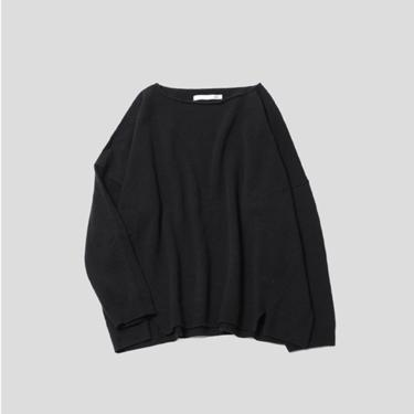 Black Wool Pullover