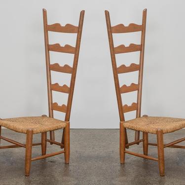 Gio Ponti Fireside Chairs by openairmodern