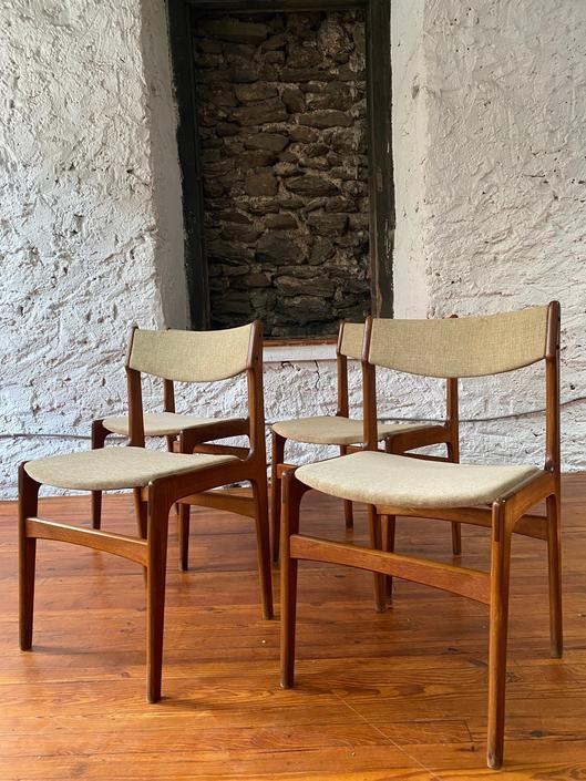 Mid century dining chair Danish modern dining chair mid century modern dining set by VintaDelphia