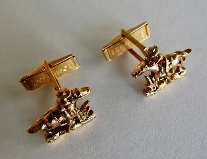 Mid Century Pony Express Sarah Coventry Cufflinks by LegendaryBeast