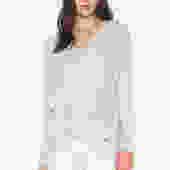 Crossover Tassle Sweater