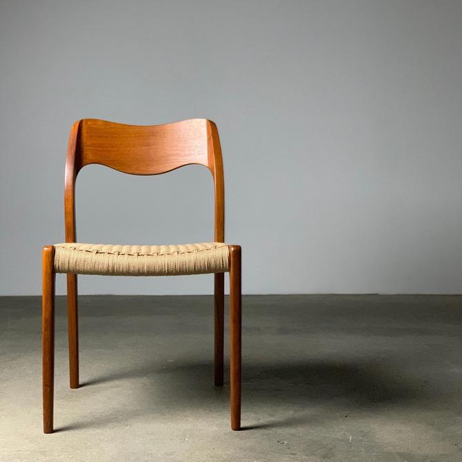 J.L. Møller Model 71 Teak Chair by midcenTree