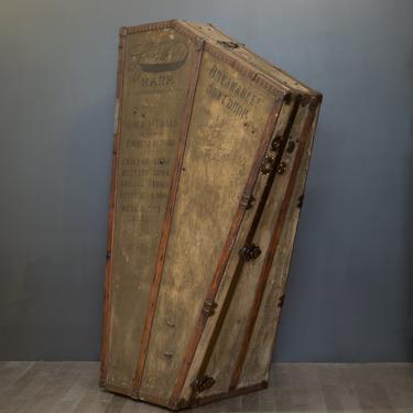 Antique 19th c. Harp Case c. 1890