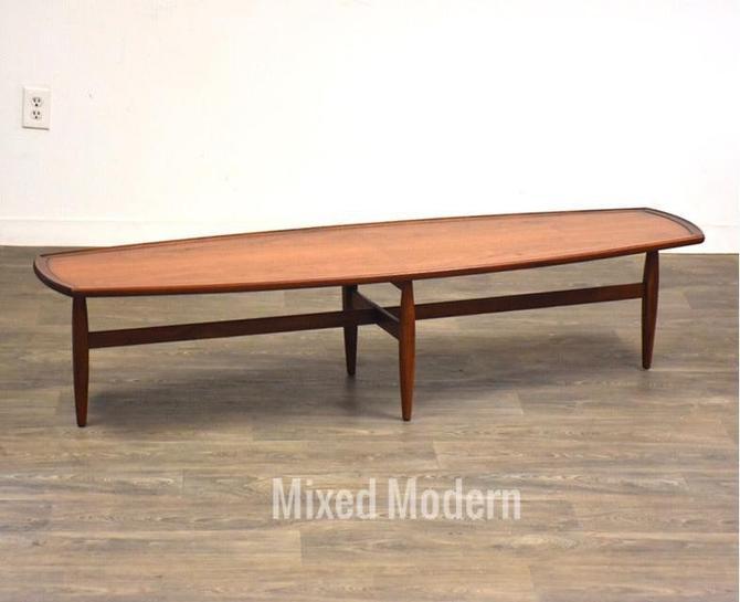 Drexel Declaration Walnut Coffee Table by mixedmodern1