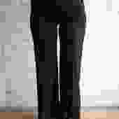 Chloe Wide-Leg Trousers, Size S