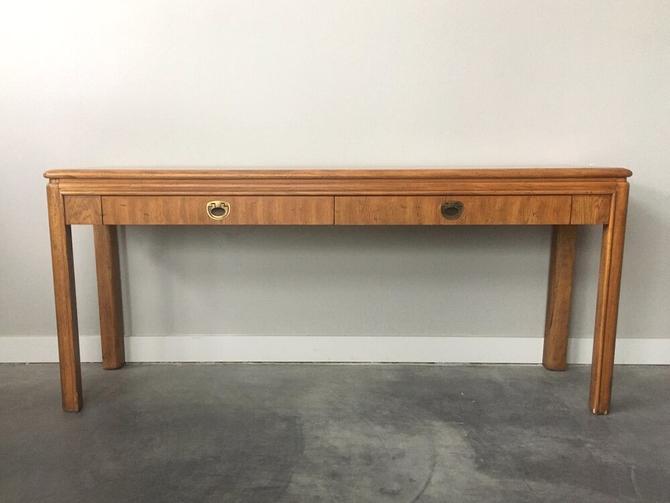 vintage mid century Drexel Passage console table.