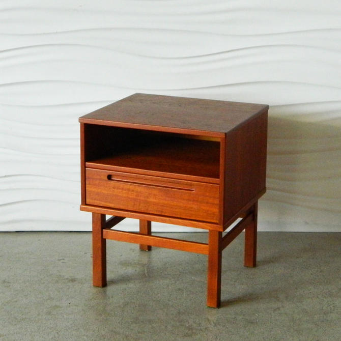 HA-C8348 Danish Teak Nightstand by Torring