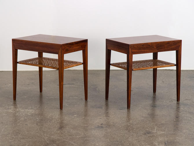 Pair of Rosewood Tables by Severin Hansen by openairmodern