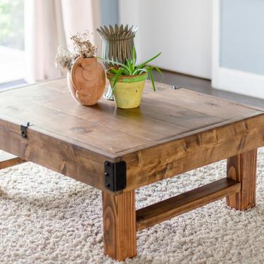 Rustic Coffee Table, Farmhouse Coffee Table, Rustic Industrial Coffee Table, Wood Coffee Table, Rustic Coffee Table, Coffee Table by ArcherHomeDesigns
