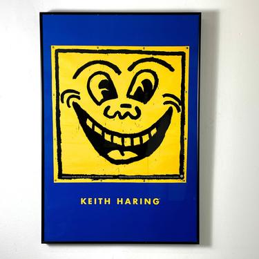 Rare Keith Haring Smile Limited Edition Print 1993 by 20cModern