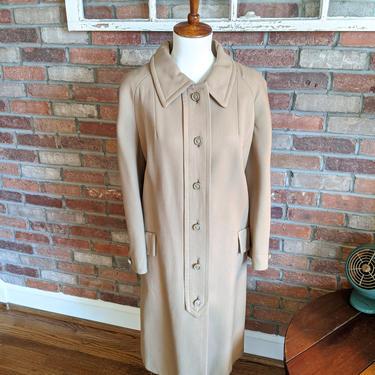 Vintage 1950's/60's Julius Garfinckel & Co Long Tan Coat by BeesKneesVintageDC