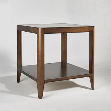 Walnut Mid Century Side Table, Mid Century End Table  - Bella Collection - Ekais by Ekais