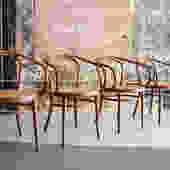Bentwood B-9 Chairs by Michael Thonet