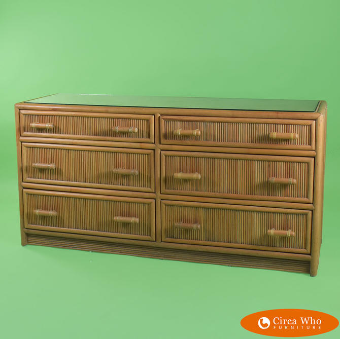 Pencil Bamboo Double Dresser