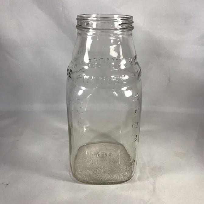 Handee Re-Usable 30 ounce Whitehouse Vinegar Vintage Jar Bottle by accokeekpickers