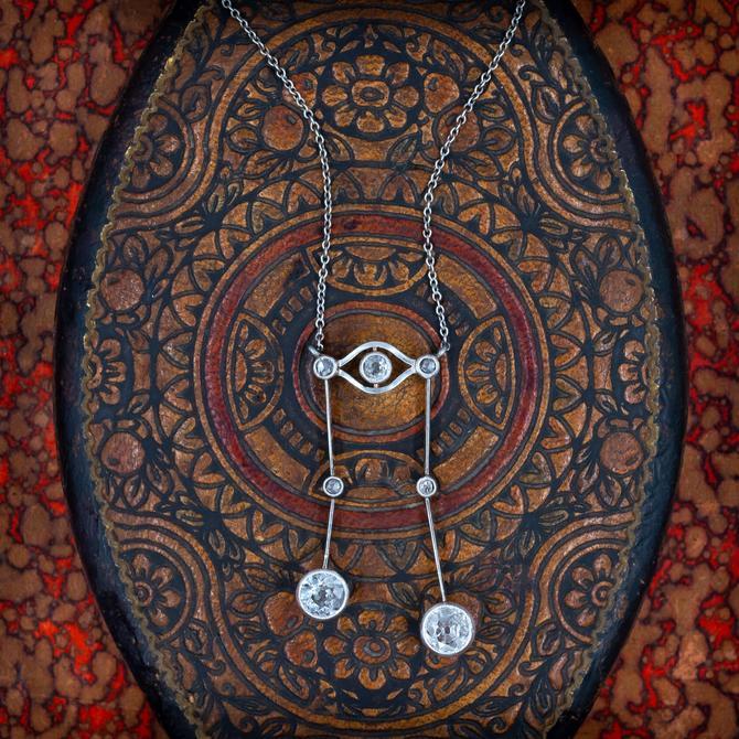 Edwardian Négligée Necklace c1900