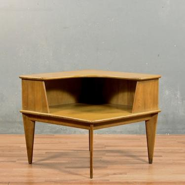 Simple Mid Century Corner Table – ONLINE ONLY