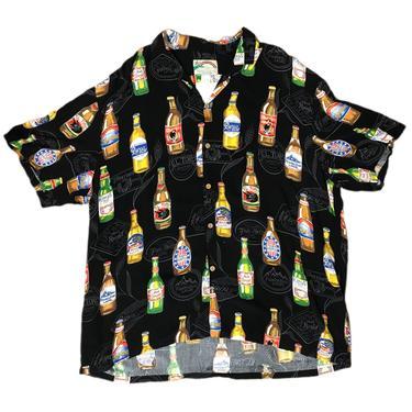 (XL) Paradise Found Made In Hawaii Beer Hawaiian Shirt 062921 LM