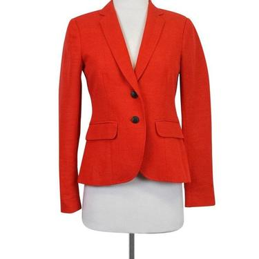 Rag & Bone - Orange Linen Blazer Sz 0