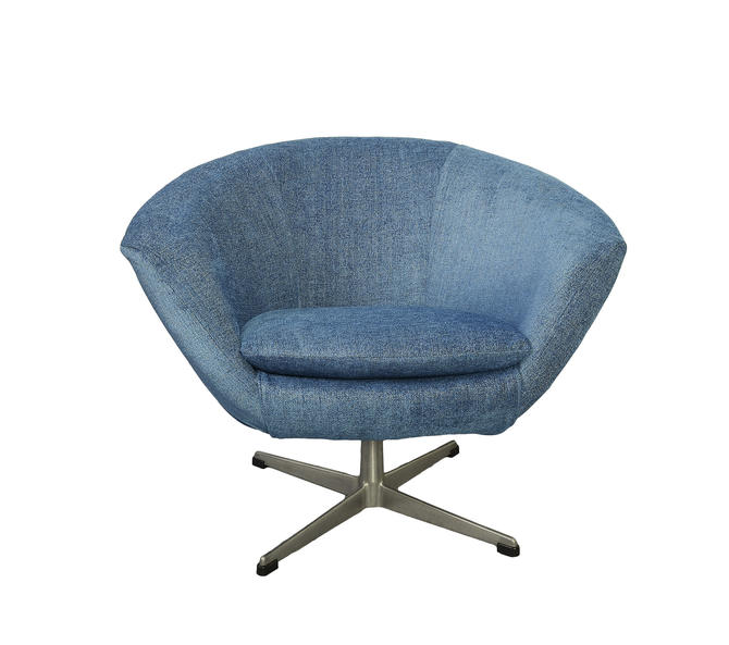 Overman AB Pod Chair Sweden Danish Modern MCM by HearthsideHome