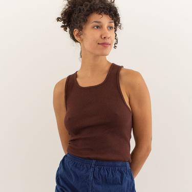 Vintage 24 25 26 27 28 Waist Elastic Cotton Shorts in True Blue   90s Made in France   XXS XS   by RAWSONSTUDIO