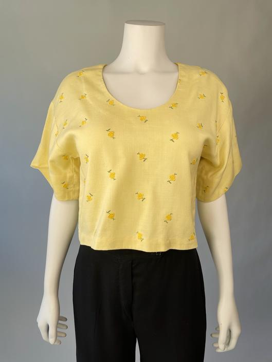 Yellow Rose Top