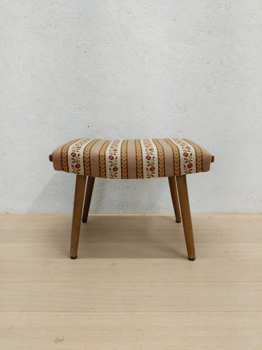 Vintage Danish Modern Foot Stool by FarOutFindsNYC