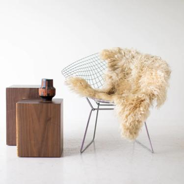 Walnut Stump Side Table by BertuHome