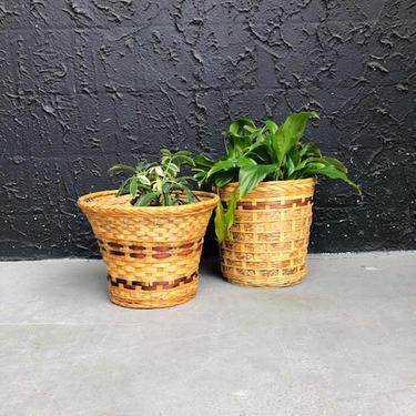 Basket Vintage Planters