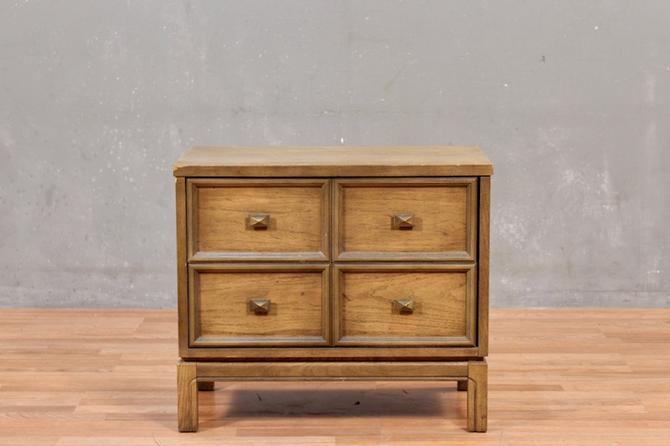 Mid Century Sable 2-Drawer Nightstand – ONLINE ONLY