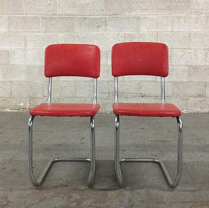 LOCAL PICKUP ONLY ------------ Vintage Dining Chairs by RetrospectVintage215