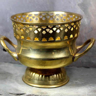 Vintage Brass Indian Offering Bowl - Decorative Brass Bowl - Smudge Bowl - Made in India   FREE SHIPPING by Bixley