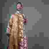 RocoCute Embroidered Robe