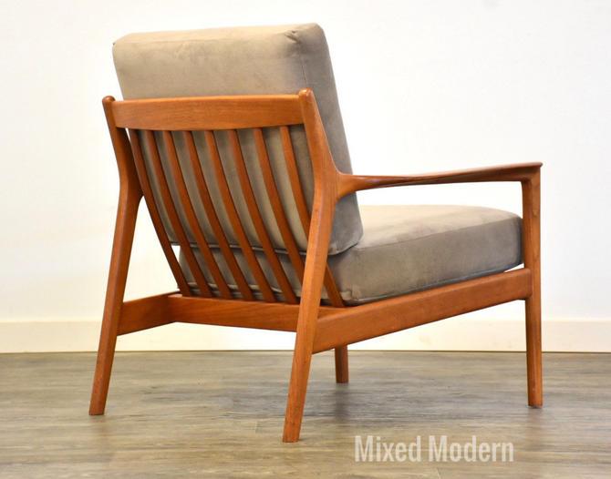 Folks Ohlsson for Dux Teak Lounge Chair by mixedmodern1