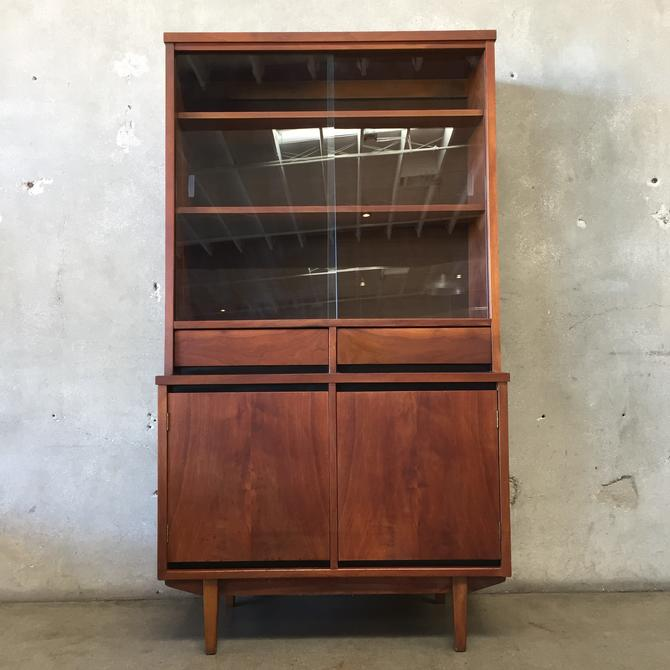 Mid Century China Hutch