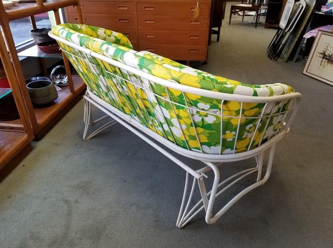 Retro patio glider by Homecrest